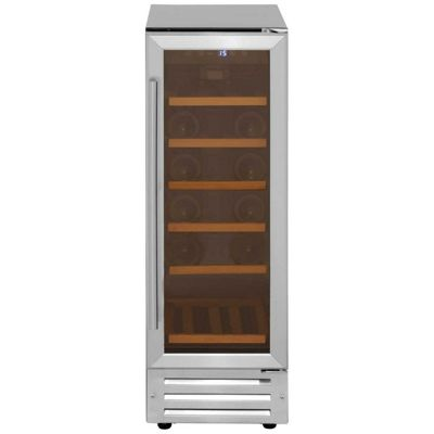 LEC 300SSWCMK2 18 Bottle Capacity Built-in Wine Cooler, Stainless Steel