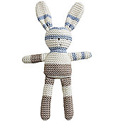 Natures Purest Natures Knits - Stripe Bunny, Bene (Blue)