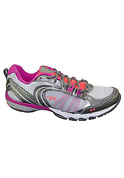 Women's Ryka Flextra Cross Trainers Silver-Grey-Pink - Silver