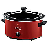 Russell Hobbs 22741 3.5L Slow Cooker - Red