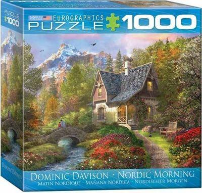 Nordic Morning - Spacesaver Box 1000pc Puzzle