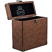 "GPO 7"" Vinyl Storage Case (Brown)"
