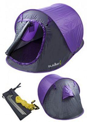 Summit 2 Man Pop Up Tent 3 Season Purple  sc 1 st  Tesco & Buy Summit 2 Man Pop Up Tent 3 Season Purple from our 2 Man Tents ...