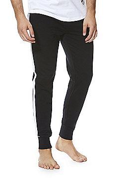 F&F Premium Slim Leg Lounge Joggers - Black