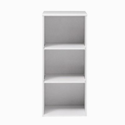 Caxton MyPod Open Shelved Top Unit in White and Grey