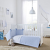 Clair de Lune 2pc Cot/Cot Bed Bedding Set (Barley Bebe Blue)