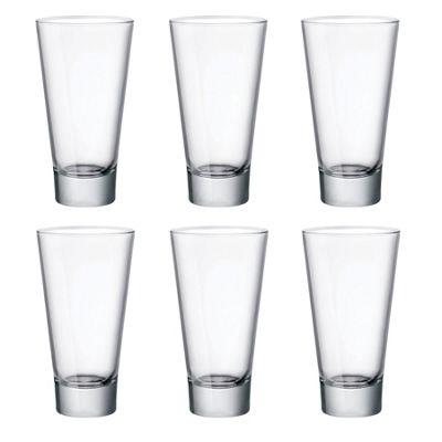 Bormioli Rocco Ypsilon Hiball Water Glasses 450ml - Pack of 6