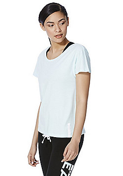 Only Play Drawstring Hem T-Shirt - Mint