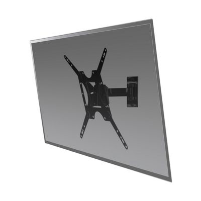 Peerless PRMP340 Medium Pivot TV Wall Mount for 32 inch - 46 inch TV in Black