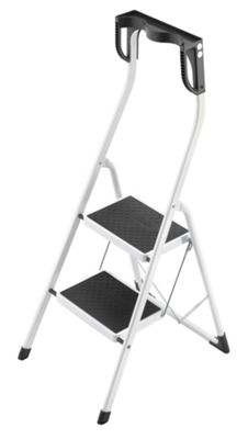 Hailo 227cm Safety Plus Steel Folding Steps with Magnets Tray