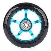 Stunt Scooter 5 Spoke ABEC9 Wheel - Electric Blue