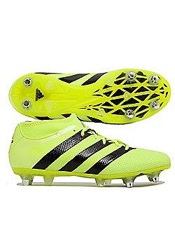 adidas Performance Mens Ace 16.2 Primemesh SG Football Boots - Yellow
