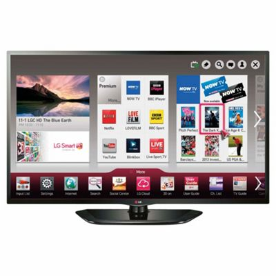 LG 32LN570U 32 Inch Smart WiFi Ready HD Ready 720p LED TV With Freeview