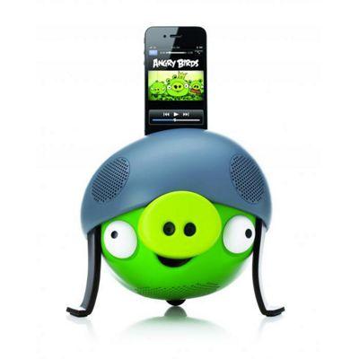 Angry Birds Docking Speaker Pig Helmet.