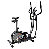 V-FIT MMCE-1 MANUAL MAGNETIC 2-IN-1 CYCLE-ELLIPTICAL TRAINER