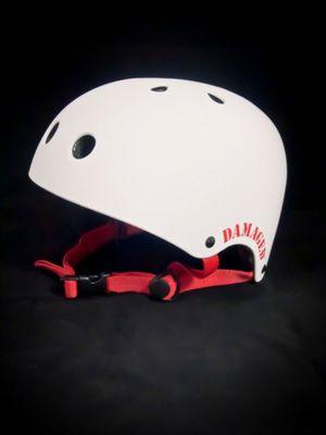 REAX Damaged Helmet 55-59cm Rubberised White