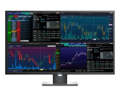Dell Professional P4317Q 43-Inch Multi Client monitor (3840x2160 60Hz via DP only) 210-AIDZ IPS LED LightBar 3 Year warranty