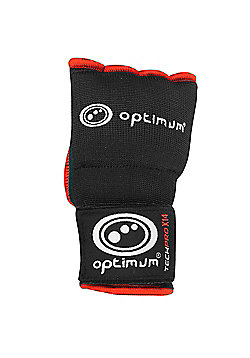 Optimum Techpro X14 Boxing Inner Gloves Black/Red - XL