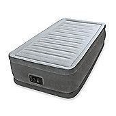 Intex Twin Dura-Beam Comfort-Plush Raised Airbed with Built-in Pump