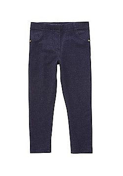 F&F Patch Pocket Jeggings - Indigo