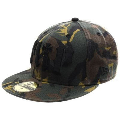 Flip HKD New Era Fitted Cap - Camo Size: 7 3/4 inch