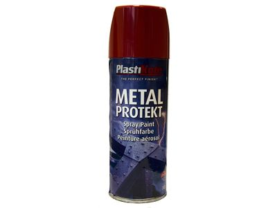 Plasti-kote Metal Protekt Spray Bright Red 400ml