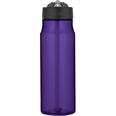 Thermos Intak 770ml Deep Purple Hydration Bottle with Straw