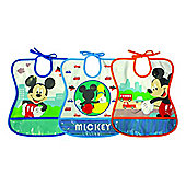 Tomy Mickey Mouse Tie Bib