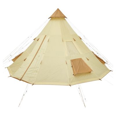 Tesco 12 Man Teepee Tent  sc 1 st  Tesco : tents at tesco - memphite.com