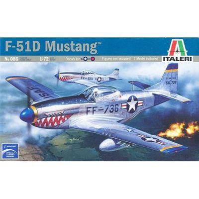 F-51D Mustang - 1:72 Scale - 086 - Italeri