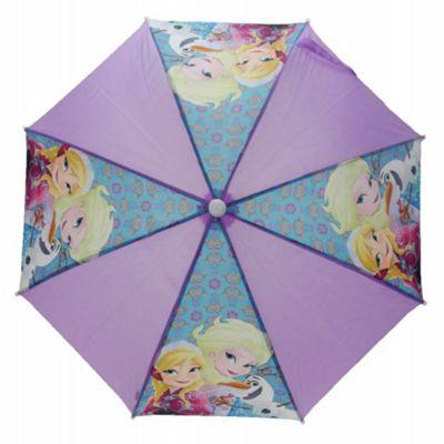 Frozen Elsa Anna Olaf Nylon Umbrella