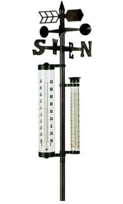 Gardenthermometer & Weathervane