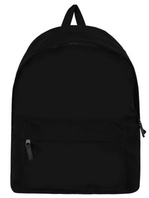 Essential Black Backpack 29x40x10cm