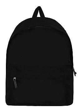 Essential Black Backpack 29x40x10cm
