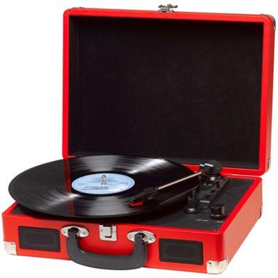 Denver VPL-120 Red Vinyl Record Player