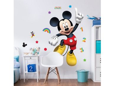 Walltastic Disney Mickey Mouse 4ft Large Character Sticker