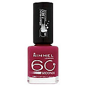 Rimmel 60 Seconds Nail Polish Funtime Fuchsia