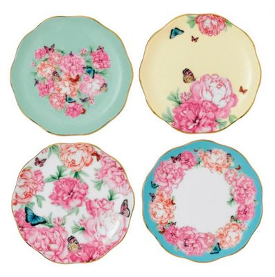 Royal Albert Miranda Kerr Tidbit Plate 10cm (Set of 4)