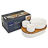 Denby by James Martin 5 Piece Stackable Serving Set
