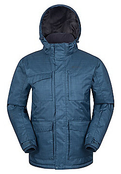 Mountain Warehouse Solar Mens Ski Jacket - Blue