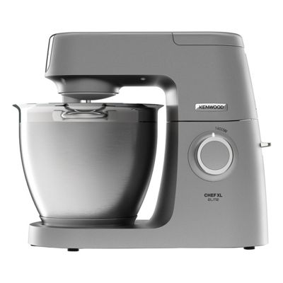 Kenwood-KVL6100S Chef Elite XL Stand Mixer with 6.7L Capacity and 1400W Power in Silver