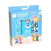 Cloudbabies for Zippy - Muslin Squares (3 Pack) Boys Blues