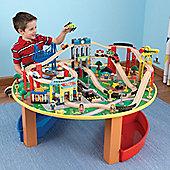 KidKraft City Explorer's Train Set and Table