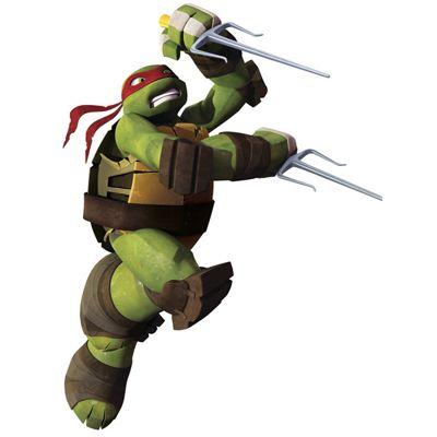 Nickleodeon Teenage Mutant Ninja Turtles Raphael Giant Wall Sticker