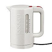Bodum Bistro 1.0L Cordless Kettle, Off White