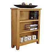 Nebraska - Oak Bookcase / Small 3 Shelf Storage Unit