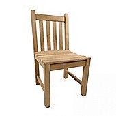 BrackenStyle Armless Warwick Teak Side Chair