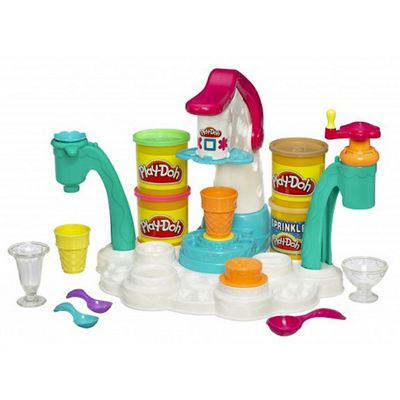 Play-Doh Magic Swirl Ice Cream Shop