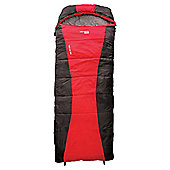 Yellowstone Trail Lite 300gsm Single Sleeping Bag Red