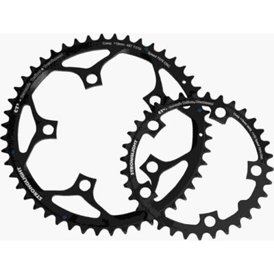 Stronglight CT2 5-Arm/110mm Chainring: 46T.